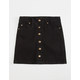 HIGHWAY Denim Button Front Girls Skirt