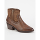COOLWAY Bady Womens Western Booties