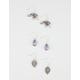FULL TILT 3 Pairs Elephant/Leaf Earrings