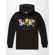 FAMOUS STARS & STRAPS Trashed Mens Hoodie