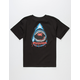 SANTA CRUZ Retro Shark Boys T-Shirt
