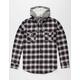 SALTY CREW Shroud Mens Hooded Flannel Shirt