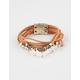 FULL TILT Crystal/Stone Wrap Bracelet