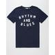 RHYTHM Blues Mens T-Shirt