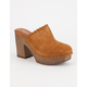 MIA Poppie Womens Clogs