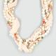 FULL TILT Pearl Chiffon Twist Necklace