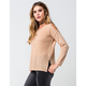 TAYLOR & SAGE Cold Shoulder Womens Sweater