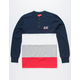 ASPHALT YACHT CLUB Stacked Mens Henley