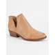 CELEBRITY NYC Side Slit Womens Booties