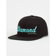 DIAMOND SUPPLY CO. Script Mens Snapback Hat