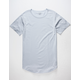 BLUE CROWN Extended Curve Mens T-Shirt