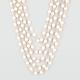 FULL TILT 3 Row Pearl Necklace