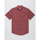 RHYTHM Simple Check Mens Shirt