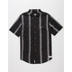 RHYTHM Barber Stripe Mens Shirt