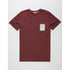 RHYTHM My T-Shirt Mens Pocket Tee