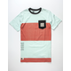LIRA Coastal Mens Pocket Tee