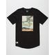 LIRA Loathing Mens Extended T-Shirt