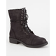 MIA Basia Womens Combat Boots