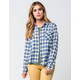 VOLCOM Cozy Day Womens Flannel Shirt