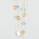FULL TILT 2 Row Bead Necklace