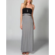 HURLEY Featherweights Mixer Convertible Maxi Dress