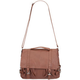 Faux Leather Top Handle Satchel
