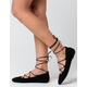 BAMBOO Lace Up Womens Flats
