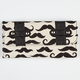 Mustache Trifold Wallet