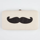 Mustached Hinged Wallet
