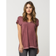 RVCA Sure Thing Womens Tee