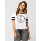 FULL TILT CA LA Womens Football Tee