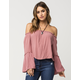 SEE YOU MONDAY Off The Shoulder Womens Top