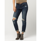 SP Black Label Destructed Womens Boyfriend Jeans