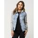 RVCA Womens Denim Puffer Jacket