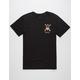 RVCA Bert Cannons Mens T-Shirt