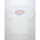 FOURSTAR Oval Type Mens T-Shirt
