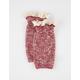 Marled Crochet Trim Boot Cuff