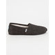 TOMS Speckled Womens Classic Slip-Ons