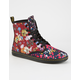 DR. MARTENS Floral Shoreditch Womens Boots