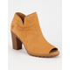 TIMBERLAND Glancy Womens Peep Toe Booties