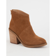 STEVE MADDEN Shrines Womens Booties