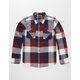 COASTAL Tri Buffalo Boys Flannel Shirt