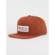 RVCA Big Blocks Mens Snapback Hat