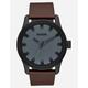 NIXON Driver Leather Watch