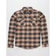 RVCA That'll Work Mens Flannel Shirt