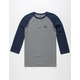 QUIKSILVER Bubble Rio Mens Baseball Tee