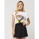 RECYCLED KARMA The Rolling Stones Womens Burnout Tee