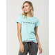 DIAMOND SUPPLY CO. Underline Womens Boyfriend Tee