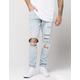 ELWOOD Destructed Mens Tapered Jeans