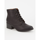 CITY CLASSIFIED Lace Up Womens Heeled Boots